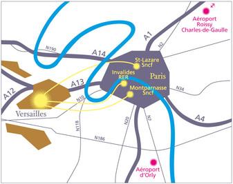 Plan Versailles Paris